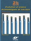 Thierry Brunet et Agnès Marguet - Economie 2e Bac Pro Agricole - Evolution et enjeux économiques et sociaux - Travaux dirigés.