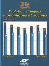 Economie 2e Bac Pro Agricole - Evolution et enjeux économiques et sociaux - Travaux dirigés.pdf
