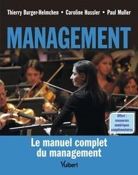 Thierry Burger-Helmchen et Caroline Hussler - Management.