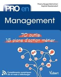 Thierry Burger-Helmchen et Thierry Burger-Helmchen - Pro en... Management - 70 outils - 14 plans d'action.