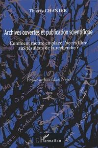 Deedr.fr Archives ouvertes et publication scientifique - Comment mettre en place l'accès libre aux résultats de la recherche ? Image