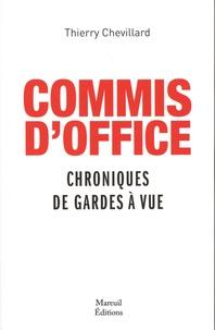 Histoiresdenlire.be Commis d'office - Chroniques de gardes à vue Image