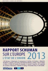 Rhonealpesinfo.fr L'état de l'Union - Rapport Schuman 2013 sur l'Europe Image