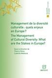 Thierry Côme et Ludmila Meskova - Management de la diversité culturelle : quels enjeux en Europe ?.
