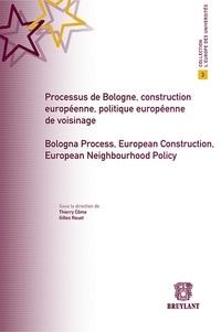 Thierry Côme et Gilles Rouet - Processus de Bologne, construction européenne, politique européenne de voisinage.