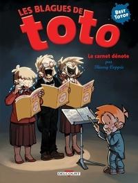 Thierry Coppée - Les Blagues de Toto  : Le carnet dénote.