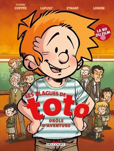 Thierry Coppée et  Lapuss' - Les Blagues de Toto  : Le Filme en BD.