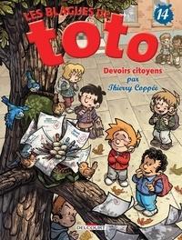 Thierry Coppée - Les Blagues de Toto Tome 14 : Devoirs citoyens.