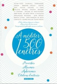 Thierry Cornu - A méditer : 1500 fenêtres.