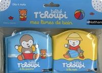 Thierry Courtin - Bébé T'choupi la mer ; Bébé T'choupi à la piscine.
