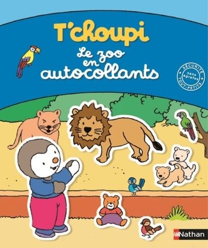 Thierry Courtin - Le zoo en autocollants.