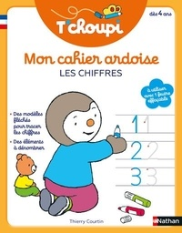Thierry Courtin - Mon cahier ardoise chiffres T'choupi.