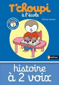 Thierry Courtin - HIS DEUX VOIX  : T'choupi à l'école.