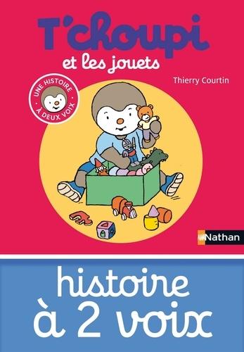 Thierry Courtin - HIS DEUX VOIX  : T'choupi et les jouets.