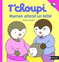 Thierry Courtin - ALBUM TCHOUPI  : T'choupi - Maman attend un bébé.