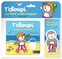 T'choupi, surprises à la mer- Mon livre de bain magique - Thierry Courtin |