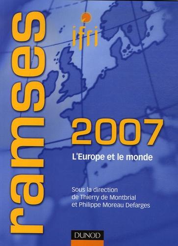 Thierry de Montbrial et  IFRI - Ramses - L'Europe et le monde.