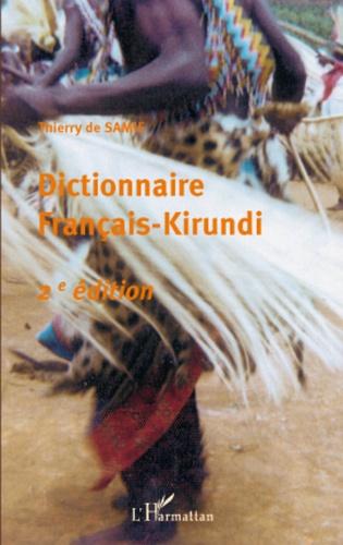 Thierry de Samie - Dictionnaire Francais-Kirundi.