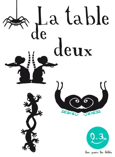 Thierry Dedieu - La table de deux.