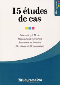 Histoiresdenlire.be 15 études de cas - Marketing, Droit, Ressources humaines, Economie et Finance, Stratégie et Organisation Image
