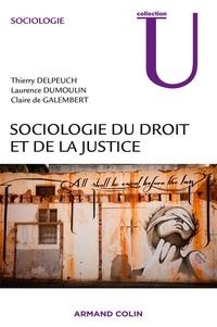 Thierry Delpeuch et Laurence Dumoulin - Sociologie du droit et de la justice.