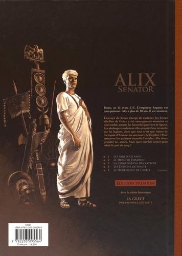 Alix senator Tome 4 Les démons de Sparte -  -  Edition de luxe