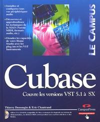 Thierry Demougin - Cubase - Couvre les versions VST 5.1 à SX. 1 Cédérom