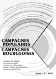 Thierry Discepolo - Agone N° 51, 2013 : Campagnes populaires, campagnes bourgeoises.