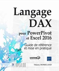 Deedr.fr Langage DAX pour PowerPivot et Excel 2016 - Guide de référence et mise en pratique Image