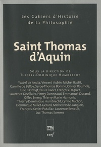 Thierry-Dominique Humbrecht - Saint Thomas d'Aquin.