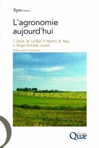 Thierry Doré et Marianne Le Bail - L'agronomie aujourd'hui. 1 Cédérom