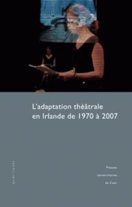 Thierry Dubost - L'adaptation théâtrale en Irlande de 1970 à 2007. 1 DVD