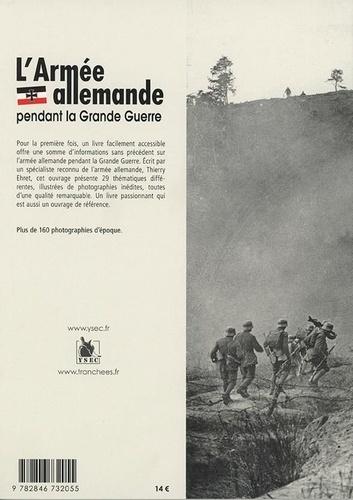 L'armée allemande pendant la Grande Guerre