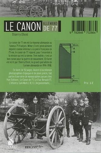 Le canon de 77 allemand