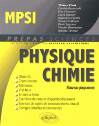 Thierry Finot - Physique Chimie MPSI.