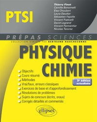 Thierry Finot et Camille Bonomelli - Physique Chimie PTSI.