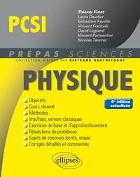 Thierry Finot et Laura Daudier - Physique PCSI.
