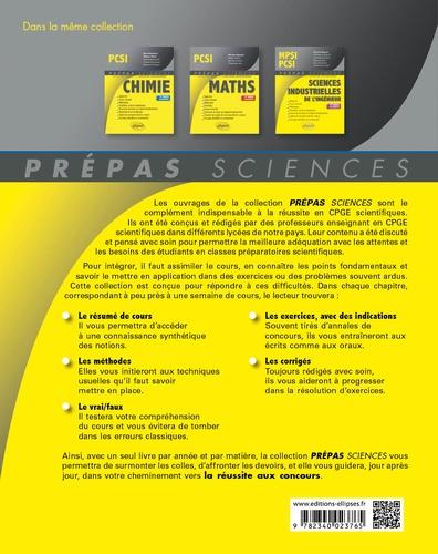Physique PCSI 4e édition revue et corrigée
