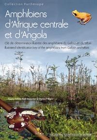 Thierry Frétey et Maël Dewynter - Amphibiens d'Afrique centrale et d'Angola - Clé de détermination illustrée des amphibiens du Gabon et du Mbini.