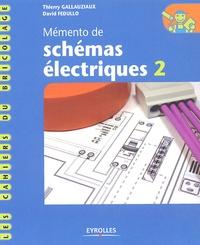 Histoiresdenlire.be Mémento de schémas électriques - Tome 2 Image