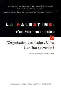 Thierry Garcia - La Palestine : d'un Etat non membre de l'Organisation des Nations Unies à un Etat souverain ?.