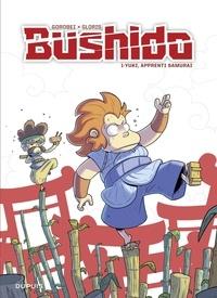 Thierry Gloris et  Gorobeï - Bushido - tome 1 - Yuki, apprenti samurai  Réédition (Prix réduit) - Yuki, apprenti samurai - Réédition (Prix réduit).