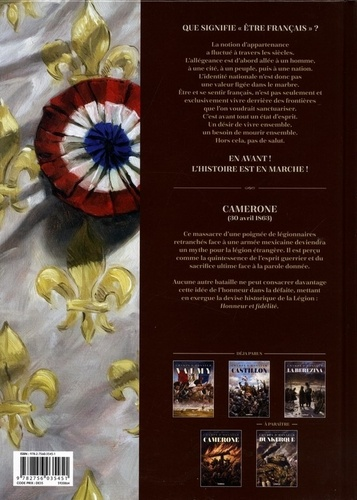 Champs d'honneur Tome 4 Camerone. Avril 1863