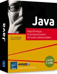 Java - Coffret de 2 livres : algorithmique et programmation : les bases indispensables.pdf