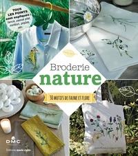 Thierry Lamarre - Broderie nature - 30 motifs de faune et flore.