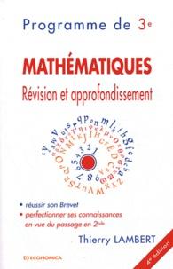 Histoiresdenlire.be Mathématiques - Révision et approfondissement : programme de 3e Image