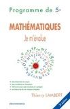 Thierry Lambert - Mathématiques - Programme de 5e.
