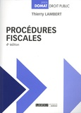 Thierry Lambert - Procédures fiscales.