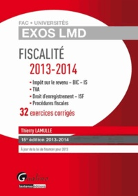 Galabria.be Fiscalité 2013-2014 - 32 exercices corrigés Image