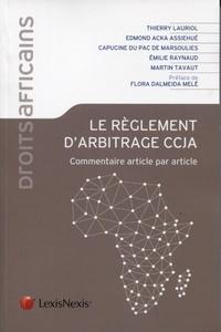 Le règlement darbitrage CCJA - Commentaire article par article.pdf